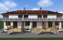 архитектурные проект отеля