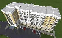 проект многоподьездного дома