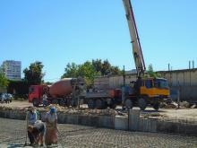 Заливка бетоном фундамента в Севастополе