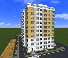 архитектурный проект высотки Севастополь