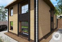 проект двух этажного дома