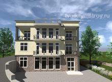 Строительство жилого дома из ракушечника Севастополь