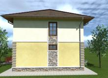 Проект дома 2 этажа Севастополь