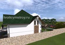 Проектирование домов из ракушечника Севастополь