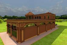 архитектурный проект загородного дома